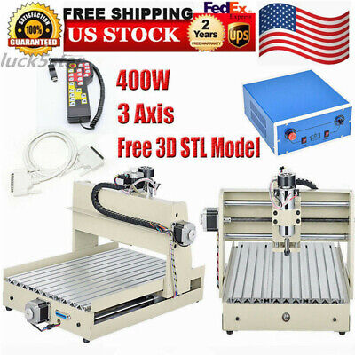 3 Axis Cnc 3040 Engraving Cutting Milling Machine Woodworking Controller