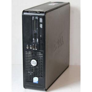 Dell Optiplex 745 SFF Desktop PC Core2 Duo 2.40GHz 4GB RAM 80GB