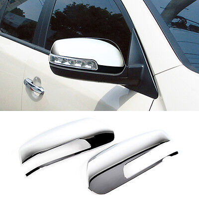 Chrome Side Mirror Cover Garnish Molding Trim LH RH For KIA 2010-2014 Sorento R