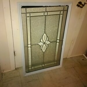 Stained glass for front door