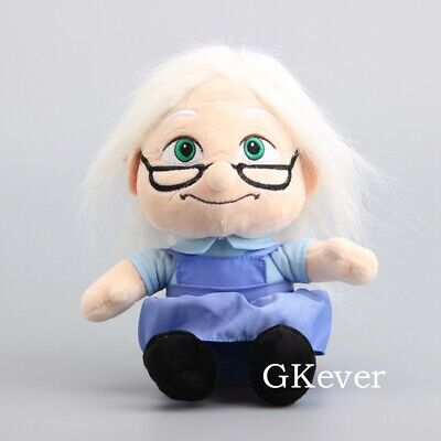 Movie UP Character Carl 's Wife Ellie Plush Toy Soft Stuffed Figure Doll 8'' - Up Movie Characters