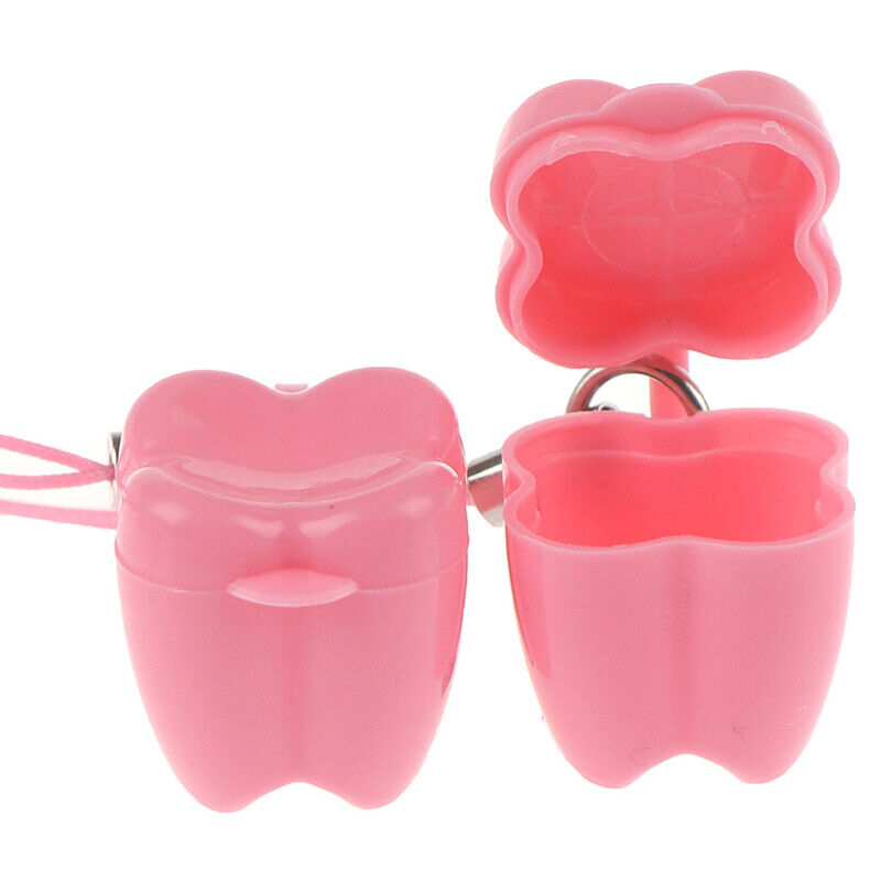 как выглядит 10Pcs Plastic Baby Milk Teeth Holder Boxes Save Tooth Storage Case Kid ToJBAYS5 фото