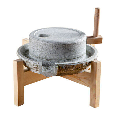 Household Medium-sized Old-fashioned Hand-milled Grain, Bean Stone -
