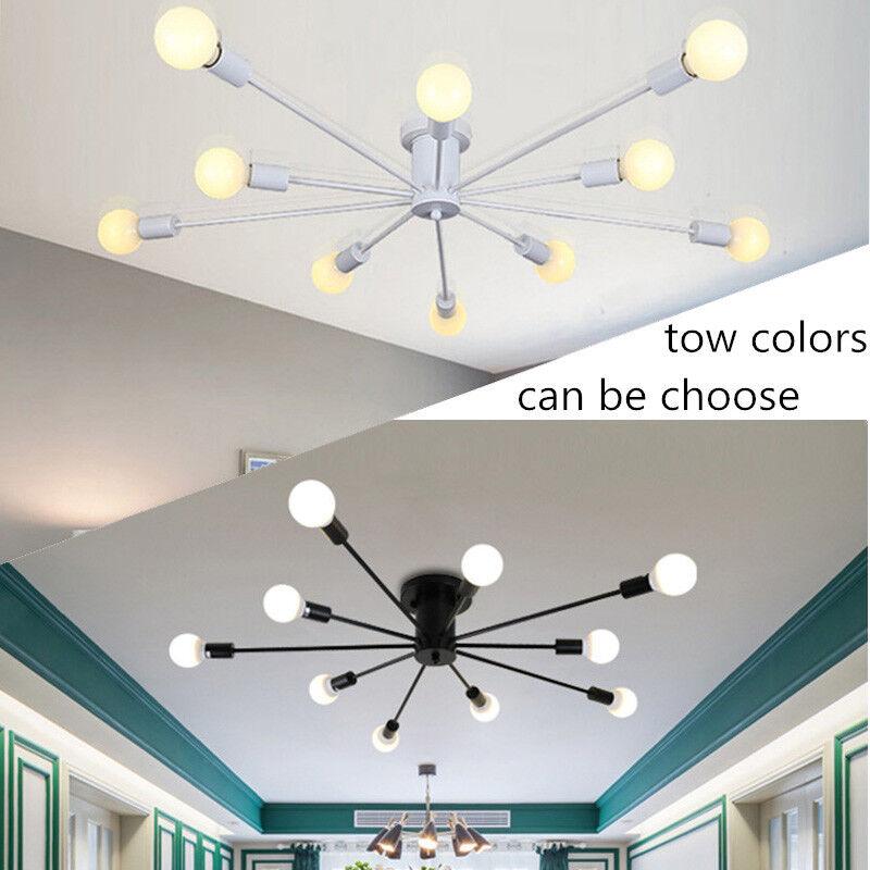 Modern Flush Mount Ceiling Light Kitchen Pendant Light Led Chandelier Lighting Ebay
