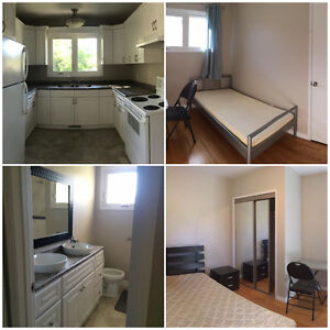 7 NEW FURNISHED rooms for rent ,near UofM, EVERYTHING included!!