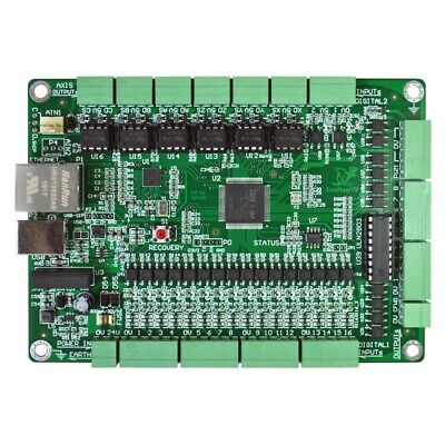 6 Axis Mach3 Controller Board Cnc Motion Controller Support Usb Ethernet Tzt