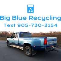 Ensure metal gets recycled, text for pickup