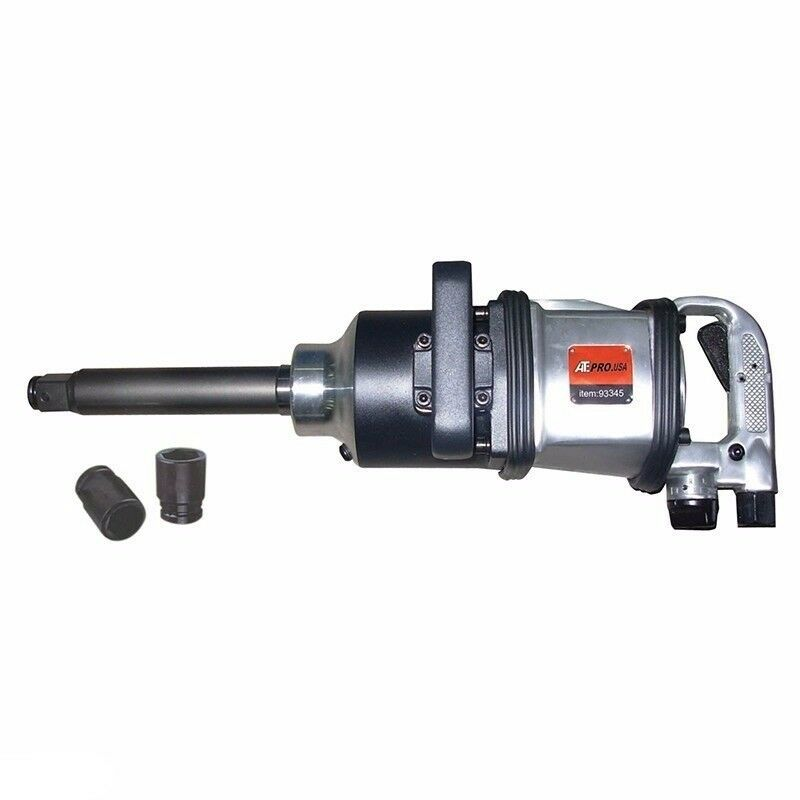 "1"" DR Drive Long Shank Air Impact Wrench Gun"