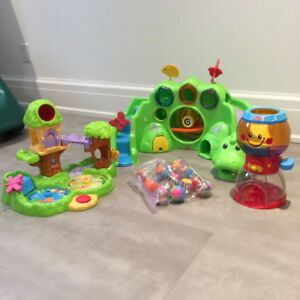 Fisher Price ball toys. Exellent condition like new. $35