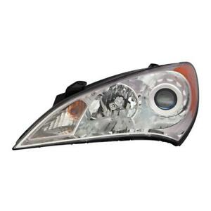2010-2012 Hyundai Genesis Coupe Driver Side Halogen Headlight Assembly - Best Value ®
