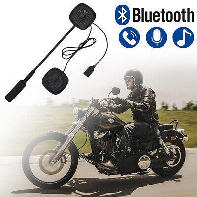 Motorcycle Helmet Headset Bluetooth Motorbike Mic Handsfree Headset Headphone