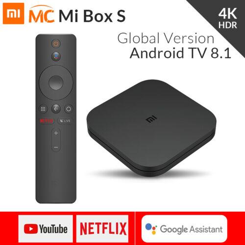 Global Version Xiaomi Mi Box S Smart TV BOX 4K HDR Media Pla