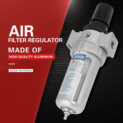 14 Pneumatic Air Pressure Regulator Filter Moisture Water Trap Compressed