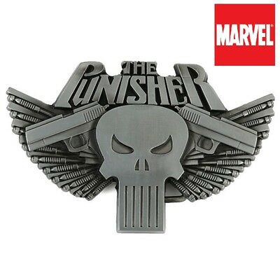 The Punisher Costumes (The Punisher Belt Buckle Full metal HQ NEW cosplay or just wear :) US)