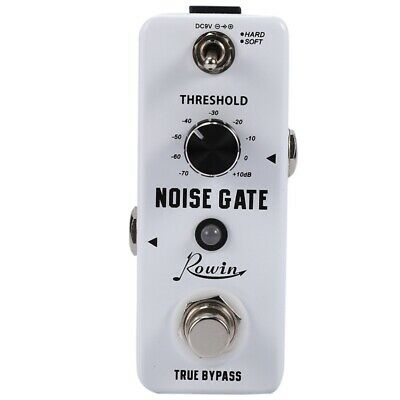 Rowin Guitar Noise Killer Noise Gate Suppressor Effect Pedal Z5R5