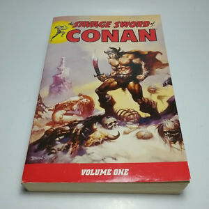The Savage Sword of Conan by Roy Thomas,Volume 1-3-5,like new
