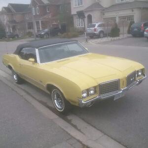 1972 Olsmobile Cutlass Supreme Convertible for Sale