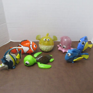 NEMO DORA LOT 7 FIGURINES MCDONALDS FILM DISNEY