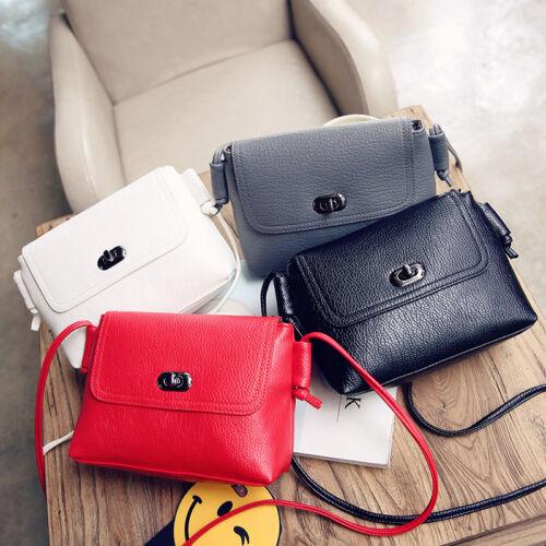 Women Faux Leather Small Handbag Satchel Cross Body Messenge
