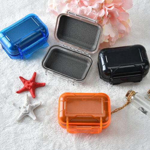 Clear waterproof earphones storage box case holder for heari