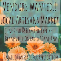 Vendors wanted for our annual market
