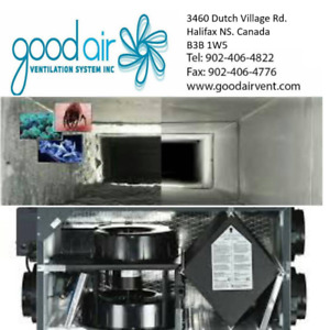 Air Exchanger Cleaning, Install & Repair. Check us out!