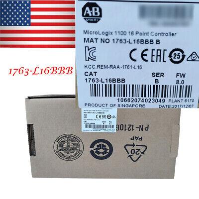 Allen-bradley 1763 1763-l16bbb Micrologix 1100 16 Point Controller 24v Ac