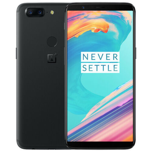 OnePlus 5T 64GB + 6GB AT&T T-Mobile GSM Unlocked Smartphone