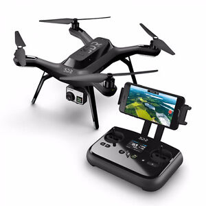3DR Solo Drone + 3DR GoPro Gimbal + 4 Batteries + EXTRA Props