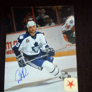 Autographed 8x10's of NHL Legend's and Hall of Fame Players