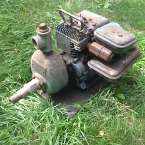 Water pump - perfect for flooding the hockey pond this winter