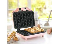 baby pink waffle maker