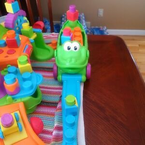 Fisher Price stack and suprise playhouse and pull along croc!! London Ontario image 2