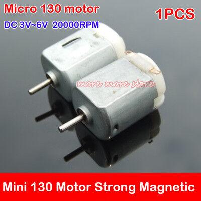 130 Motor Dc 3v 6v 20000rpm High Speed Strong Magnetic For Wheel Car Drive Robot