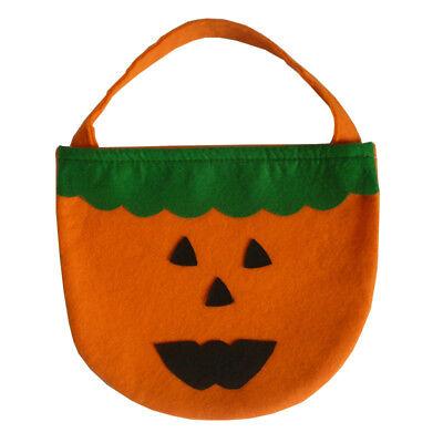 Halloween Tasche Sammeln Betteln Süssigkeiten Henkel orange grün
