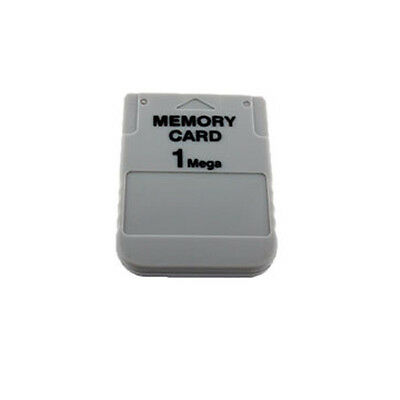 New 1MB Memory Card For Playstation 1 One PS1 PSX Game 1 MB Fast Shipping US