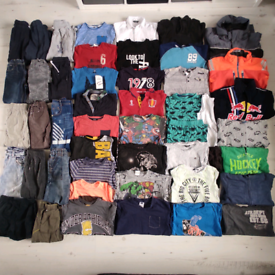 Boys 6-7 years autumn/winter clothes bundle 48 items
