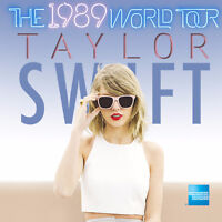Selling 2 Floor Taylor Swift Tickets for SAT OCT 3, 2015