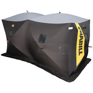 Frabill Double Size Ice Shelter is Double the Fun !!!