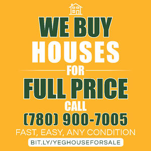 Sell Your House…Fast! We're Looking To Buy Houses