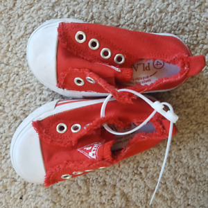 Children's Place Red Shoes - Size 4