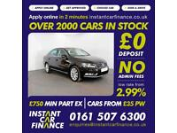 Volkswagen Passat Highline Tdi Bluemotion Dsg 2.0 GOOD/BAD CREDIT CAR FINANCE