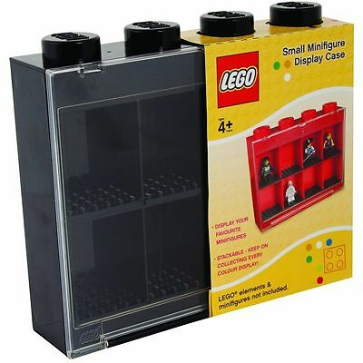 Lego Vitrina Negro Para 8 Mini Figuras Compartimentos Guardar Ladrillo UT21236