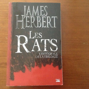 Les Rats - James Herbert West Island Greater Montréal image 1