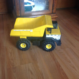Large All Metal Tonka Dump Truck and Loader