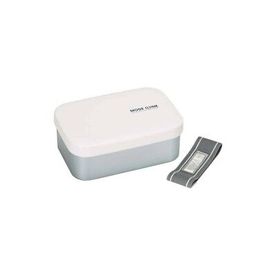 1.1L Aluminum Bento Lunch Box with Divider White (Aluminum Lunch Box)