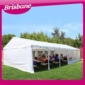 Commercial Outdoor Wedding Gazebo Tent 12m x 6m - White QLD Eagle Farm Brisbane North East Preview