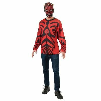 STAR WARS DARTH MAUL ADULT COSTUME KIT CONVENTION COSPLAY HALLOWEEN  MENS M L - Darth Maul Kostüm Cosplay