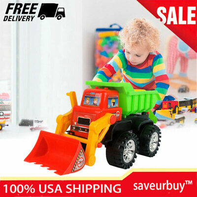 Baby Toy Cars For Toddler Push Car Cool Excavator Bulldozer Toys Birthday Xmas - Cool Toy Cars