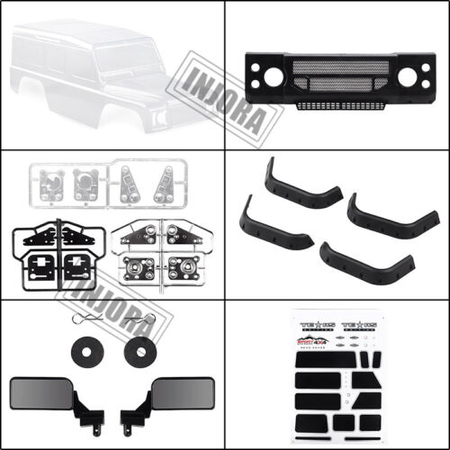 313mm Wheelbase D110 Defender Plastic Shell for 1//10 RC TRX4 Axial SCX10 90046